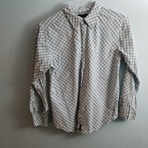 Kenneth Cole  Checkered Buttondown Shirt